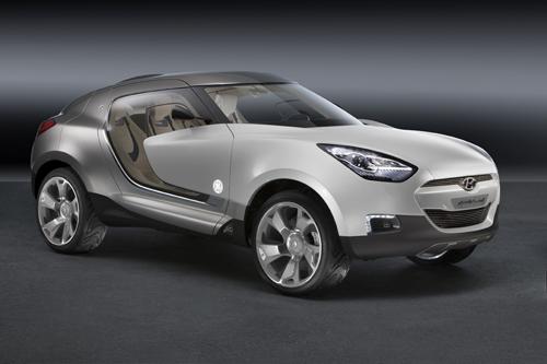 Hyundai QarmaQ Concept с пластиковым остеклением