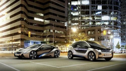 BMW представила модели i3 и i8