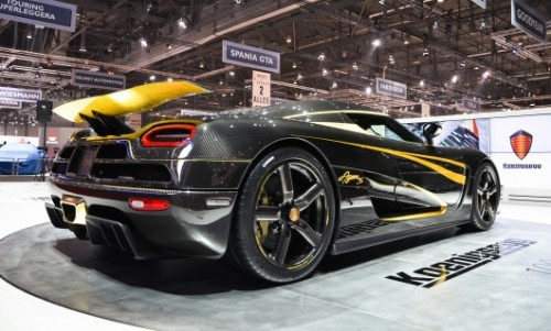 Koenigsegg One:1 – новый автомобиль-рекордсмен