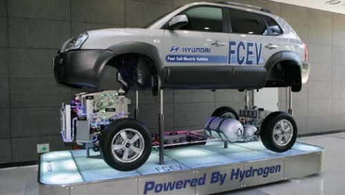 Авто на водородном топливе