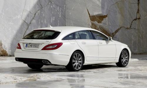 Mercedes-Benz частично рассекретил CLS