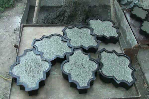 Технология производства и мастер-класс по созданию тротуарной плитки своими руками